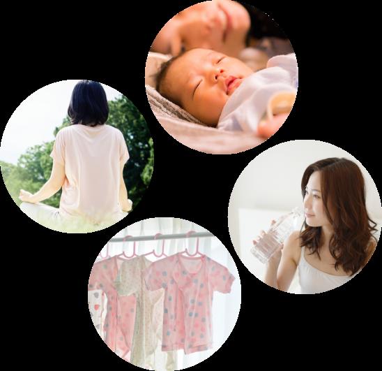 出産に45年以上携わってきた経験を活かした身体に優しい出産をご提供
